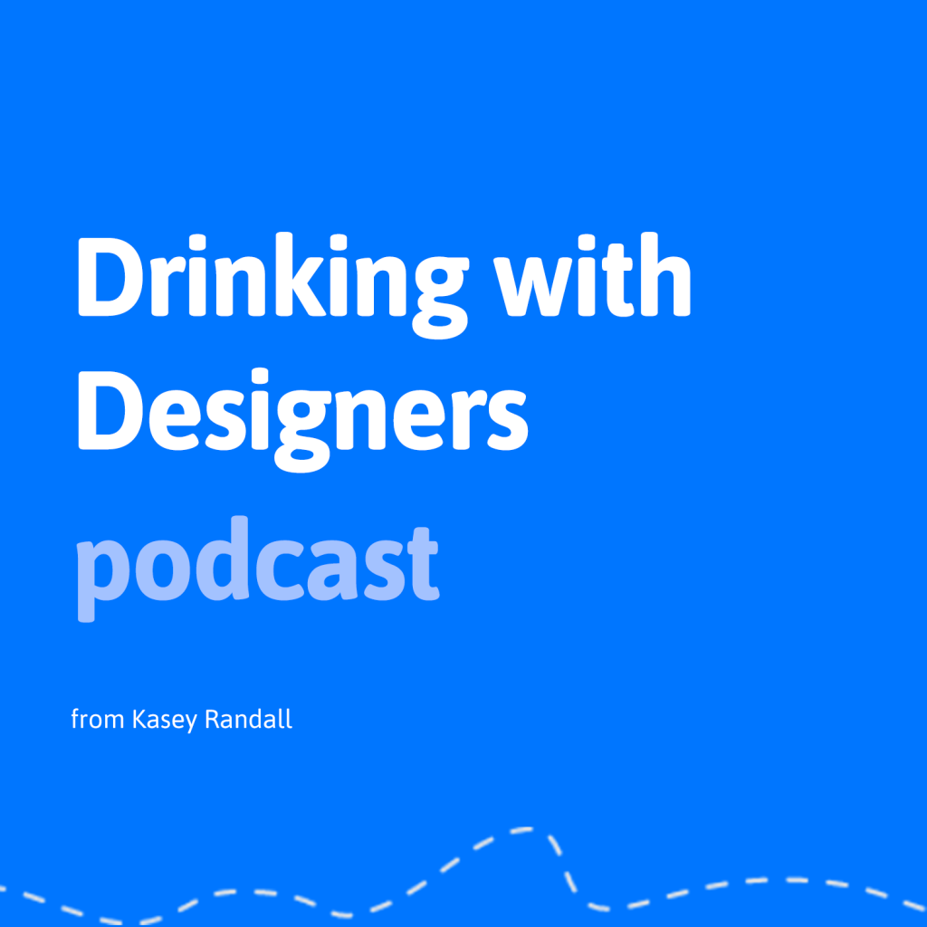 drinking with designers podcast logo